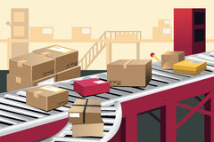 Αποθήκη εμπορευμάτων ελεύθερη απεικόνιση δικαιώματος