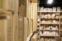 αποθήκη εμπορευμάτων Στοκ Εικόνα