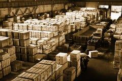 αποθήκη εμπορευμάτων Στοκ εικόνες με δικαίωμα ελεύθερης χρήσης