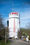 Αποθήκη πολυόροφων κτιρίων Pragsattel στη Στουτγάρδη, Γερμανία Στοκ φωτογραφία με δικαίωμα ελεύθερης χρήσης
