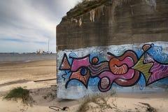 Αποθήκη στην παραλία Στοκ Εικόνες