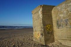 Αποθήκη στην παραλία Στοκ Εικόνα