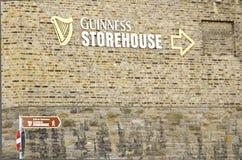 Αποθήκη Guiness, Δουβλίνο Στοκ φωτογραφία με δικαίωμα ελεύθερης χρήσης