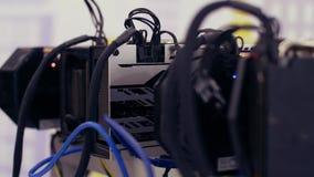 Αποθηκεύσεις με την τηλεοπτική μεταλλεία καρτών γραφικών GPU απόθεμα βίντεο