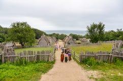 Αποικία του Πλύμουθ - Πλύμουθ μΑ Στοκ Εικόνες