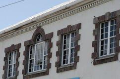 Αποικιακά παράθυρα Στοκ Εικόνες