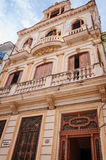 Αποικιακή αρχιτεκτονική στην παλαιά Αβάνα, Κούβα Στοκ Φωτογραφίες