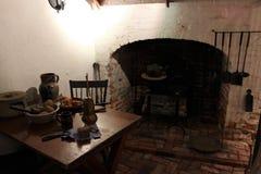Αποικιακή κουζίνα στοκ εικόνες