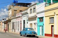 Αποικιακή πόλη Cienfuegos στην Κούβα Στοκ Φωτογραφία
