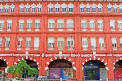 Αποικιακό κτήριο Colombo, Σρι Λάνκα στοκ φωτογραφίες