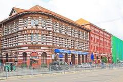 Αποικιακό κτήριο Colombo, Σρι Λάνκα στοκ φωτογραφία με δικαίωμα ελεύθερης χρήσης