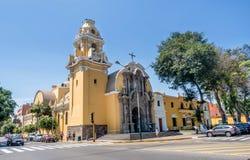Αποικιακό Λα Ermita Iglesia εκκλησιών σε Barranco, Λίμα, Περού στοκ εικόνες με δικαίωμα ελεύθερης χρήσης