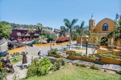 Αποικιακό Λα Ermita Iglesia εκκλησιών σε Barranco, Λίμα, Περού στοκ εικόνες