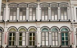 Αποικιακό σπίτι στη Σιγκαπούρη Στοκ Φωτογραφία