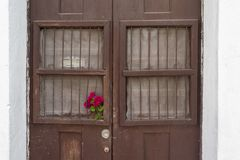 Αποικιακό σπίτι στο Μεξικό Στοκ εικόνα με δικαίωμα ελεύθερης χρήσης
