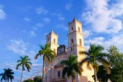 Αποικιακό χωριό του Βαγιαδολίδ, Yucatan Στοκ εικόνα με δικαίωμα ελεύθερης χρήσης