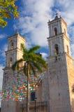 Αποικιακό χωριό του Βαγιαδολίδ, Yucatan Στοκ εικόνες με δικαίωμα ελεύθερης χρήσης