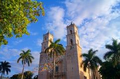 Αποικιακό χωριό του Βαγιαδολίδ, Yucatan Στοκ Εικόνες