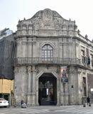αποικιακό de indias ύφος παλατιών έρευνας της Καρχηδόνας Κολομβία Στοκ Εικόνες