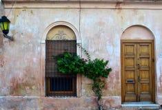 Αποικιακό EN colonia del Σακραμέντο Casa στοκ φωτογραφία με δικαίωμα ελεύθερης χρήσης