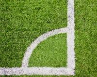 αποκαλούμενο ποδόσφαιρο πεδίων γωνιών Στοκ φωτογραφία με δικαίωμα ελεύθερης χρήσης