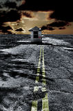 αποκαλυπτικό σημείο ελέ& Στοκ Εικόνα