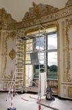 Αποκατάσταση ενός παλαιού κτηρίου στοκ εικόνες με δικαίωμα ελεύθερης χρήσης