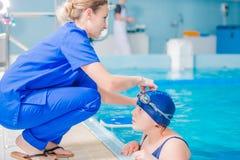 Αποκατάσταση στην πισίνα Στοκ Εικόνες