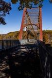 Αποκατεστημένη γέφυρα σιδηροδρόμου της Νέας Υόρκης και Putnam - Νέα Υόρκη στοκ εικόνες με δικαίωμα ελεύθερης χρήσης