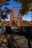 Αποκατεστημένη γέφυρα σιδηροδρόμου της Νέας Υόρκης και Putnam - Νέα Υόρκη στοκ φωτογραφία