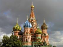 Αποκατεστημένοι θόλοι του καθεδρικού ναού του βασιλικού του ST στοκ φωτογραφία