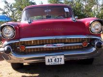 Αποκατεστημένος κλασικός 1957 Chevrolet Στοκ Φωτογραφίες