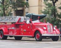 Αποκατεστημένο αντίκα πυροσβεστικό όχημα Στοκ Εικόνες