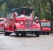 Αποκατεστημένο αντίκα πυροσβεστικό όχημα Στοκ εικόνα με δικαίωμα ελεύθερης χρήσης