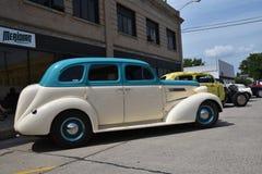 Αποκατεστημένο λευκό 1949 Chevy Στοκ Φωτογραφία