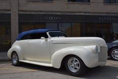 Αποκατεστημένο λευκό 1949 Chevy Στοκ φωτογραφία με δικαίωμα ελεύθερης χρήσης