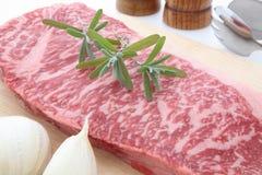 αποκαλούμενη βόειο κρέας κουζίνα ιαπωνικό ύφος shabu kobe στοκ εικόνα