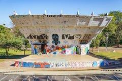 Αποκαλούμενος ο αμφιθέατρο Luigi Borghesi ή Anfiteatro do Zerao Στοκ φωτογραφία με δικαίωμα ελεύθερης χρήσης
