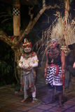 Αποκαλούμενος χορός Kecak πιθήκων χορός στοκ εικόνα