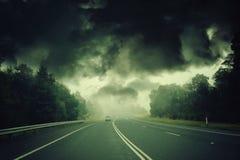 Αποκαλυπτική θύελλα Στοκ Εικόνες