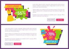 Αποκλειστική προσφορά 55 καλύτερη πώληση 70 από την τιμή Promo απεικόνιση αποθεμάτων