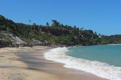 Αποκλειστική τροπική παραλία στη Βραζιλία στοκ φωτογραφία με δικαίωμα ελεύθερης χρήσης