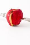 αποκοπή μήλων Στοκ Φωτογραφίες