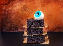 Αποκριές Brownies Στοκ φωτογραφίες με δικαίωμα ελεύθερης χρήσης