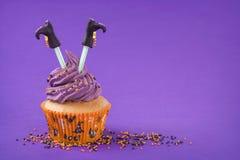 Αποκριές cupcake Στοκ Φωτογραφίες