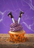 Αποκριές cupcake Στοκ Φωτογραφία