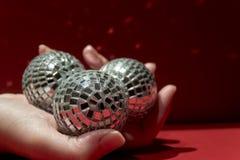 αποκτημένος σφαίρες καθρέφτης ι Στοκ Εικόνες