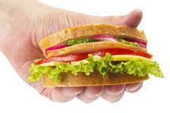 αποκτημένο σάντουιτς ζαμ&p Στοκ Εικόνα