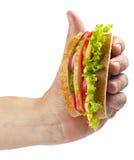 αποκτημένο σάντουιτς ζαμ&p Στοκ φωτογραφία με δικαίωμα ελεύθερης χρήσης