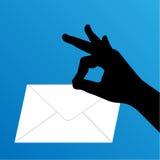 αποκτημένο ταχυδρομείο &ep Απεικόνιση αποθεμάτων